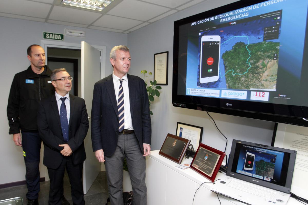 El 112 habilita una nueva aplicación móvil que facilitará localizar a personas que se encuentran en situación de emergencia