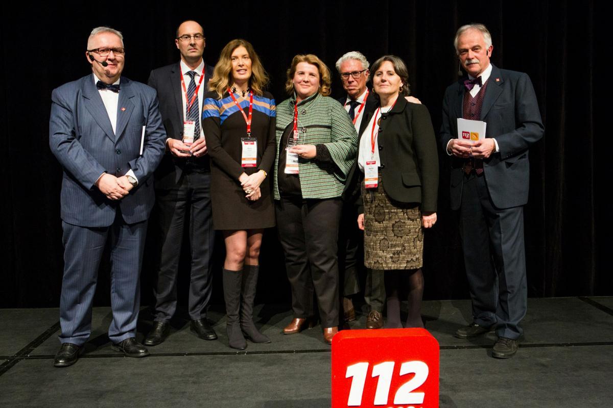 El gerente de la AXEGA recibe el premio que otorga la EENA al proyecto ARIEM 112