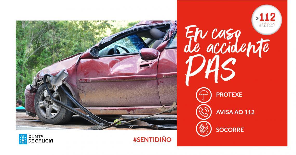 En caso de accidente, PAS
